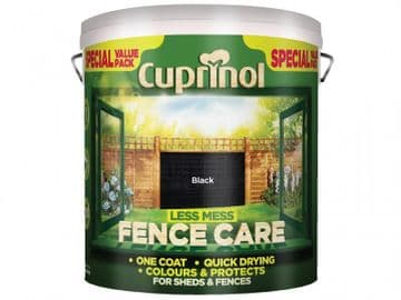 Less Mess Fence Care Black 6 litre